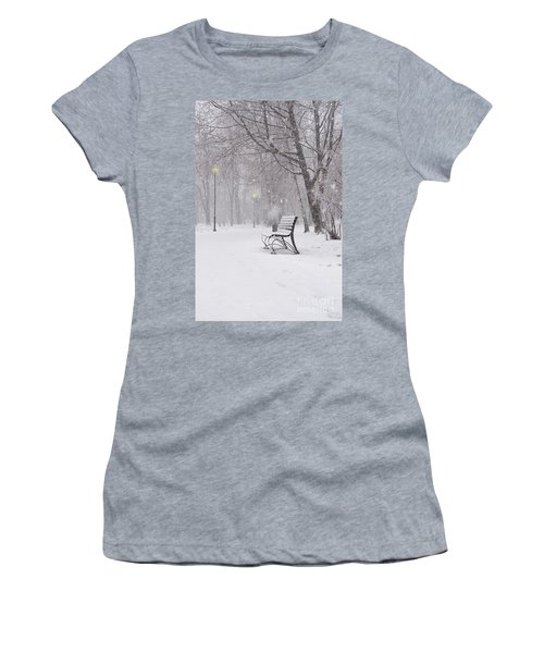 Blizzard In The Park Women's T-Shirt