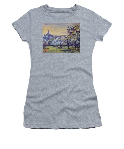 Blossom Trees Near Vijlen Women's T-Shirt