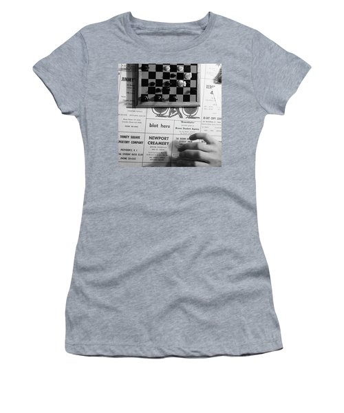 Blot Here, Aka Black's Move, 1972 Women's T-Shirt