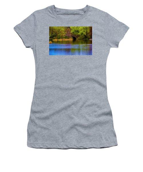 Bridge In Central Park Women's T-Shirt