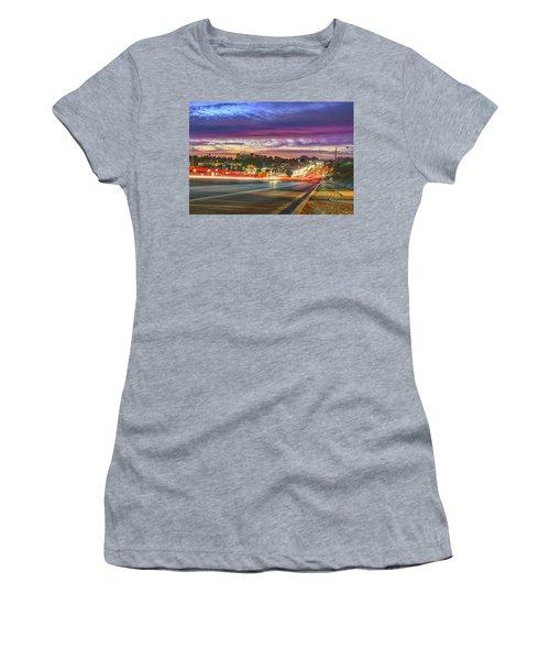 Broadway Sunset, Tucson, Az Women's T-Shirt