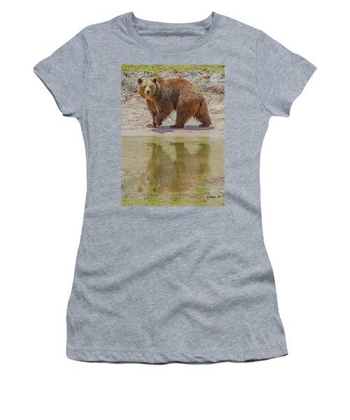 Brown Bear Reflection Women's T-Shirt