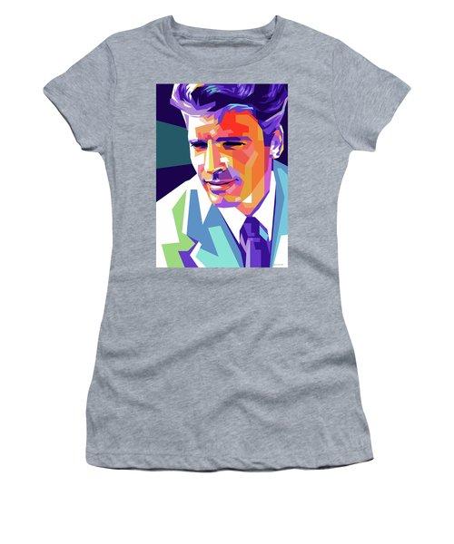 Burt Lancaster Pop Art Women's T-Shirt