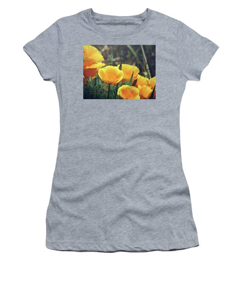 Californian Poppies In The Patagonia Women's T-Shirt