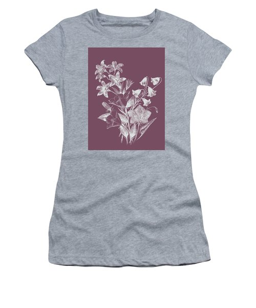 Campanulas Purple Flower Women's T-Shirt