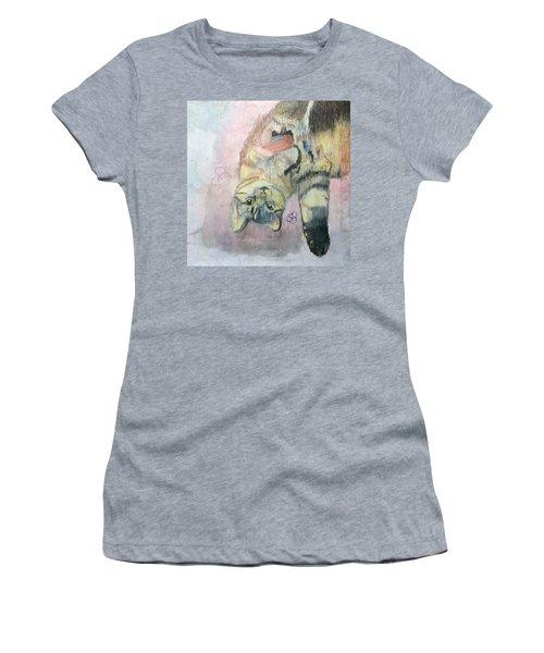 Playful Cat Named Simba Women's T-Shirt