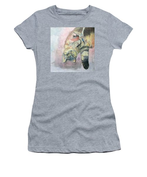 Playful Cat Named Simba Women's T-Shirt