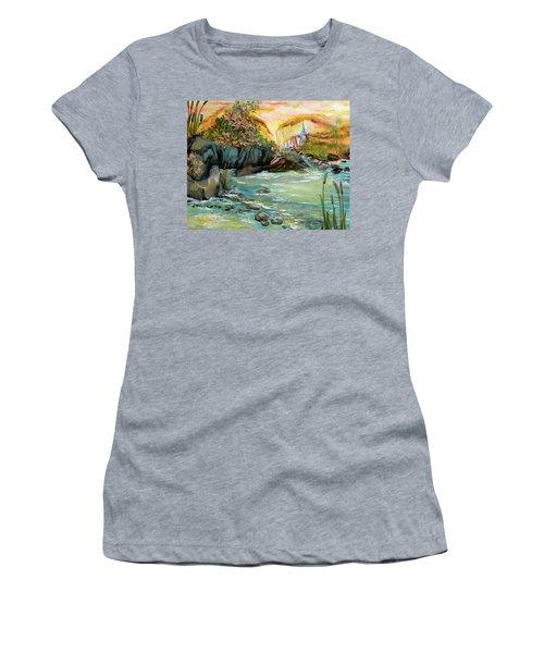 Cattail Falls Women's T-Shirt