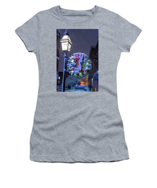 Women's T-Shirt featuring the photograph Celebrate The Season by Jeff Sinon