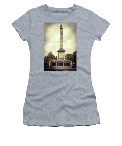 Women's T-Shirt featuring the photograph Cenotaph by JLowPhotos