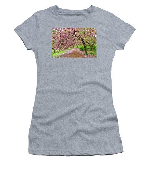 Central Park Cherry Blossoms Women's T-Shirt