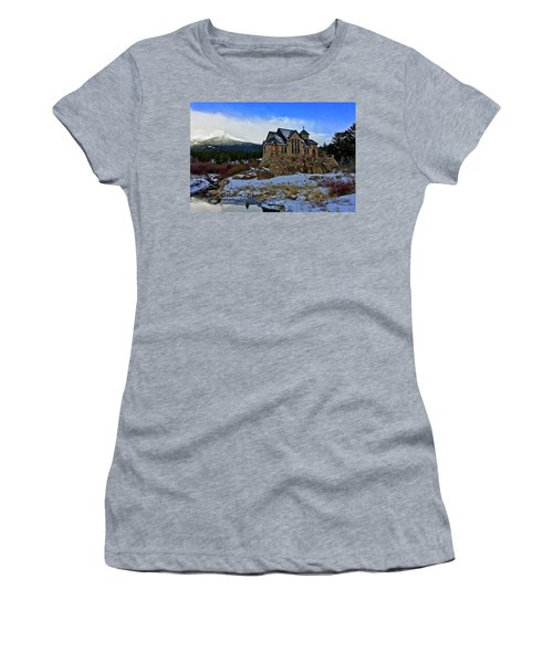 Women's T-Shirt featuring the photograph Chapel On The Rock by Dan Miller