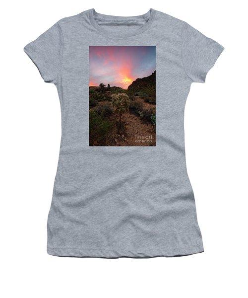 Cholla Sunset Women's T-Shirt