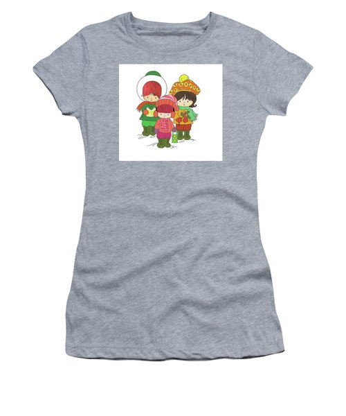 Christmas Angels Women's T-Shirt