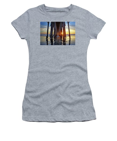 Christmas Eve At The Pier Women's T-Shirt