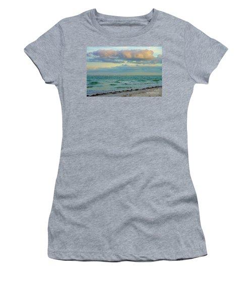 Clouds Over Sanibel Beach Women's T-Shirt