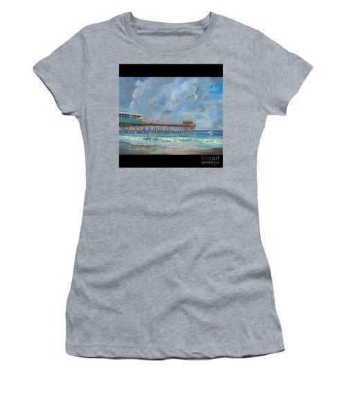 Cocoa Beach Pier Women's T-Shirt
