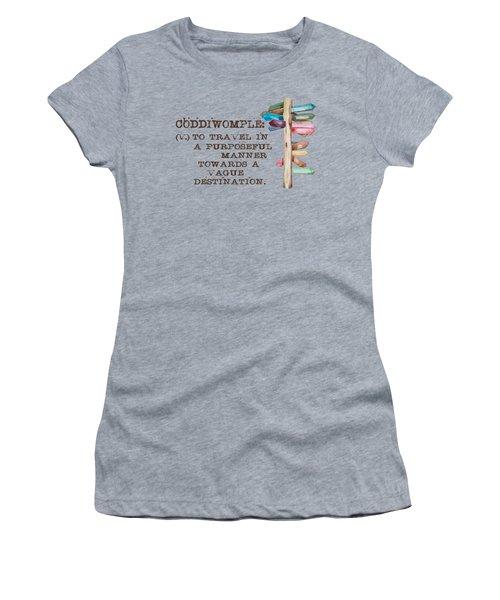 Coddiwomple Women's T-Shirt