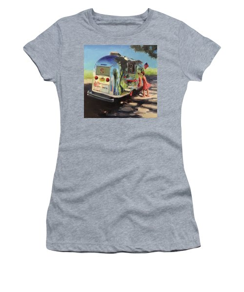 Coffee In The Shade Women's T-Shirt