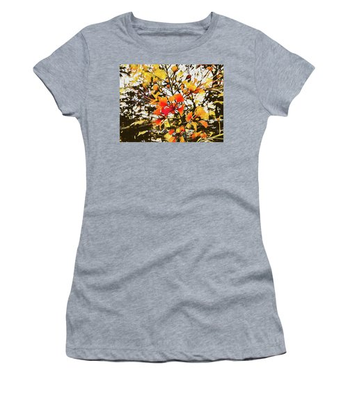 Colourful Leaves Women's T-Shirt