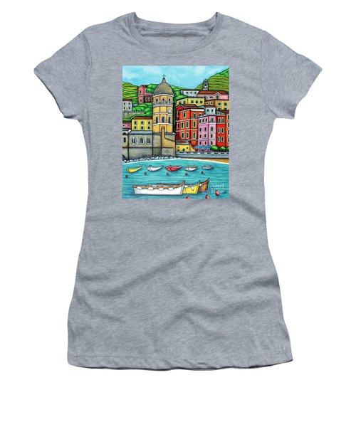 Colours Of Vernazza Women's T-Shirt