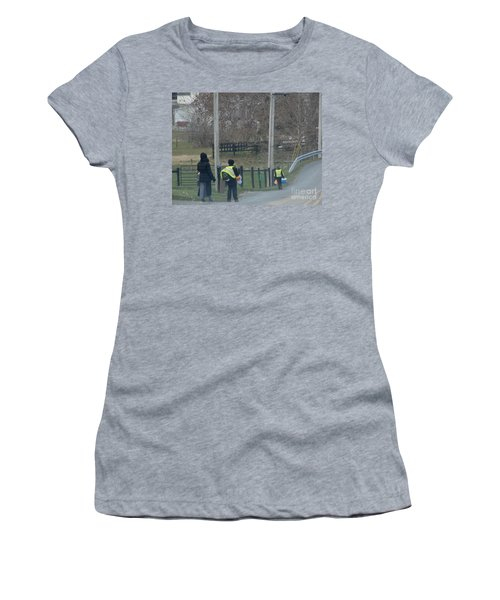 Coming Home From School Women's T-Shirt