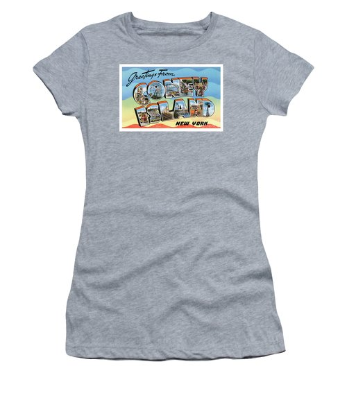 Coney Island Greetings - Version 2 Women's T-Shirt