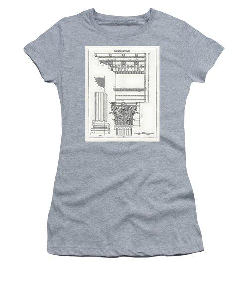 Corinthian Architecture Women's T-Shirt