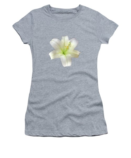 Women's T-Shirt featuring the photograph Cotton Seed Lilies by Rockin Docks