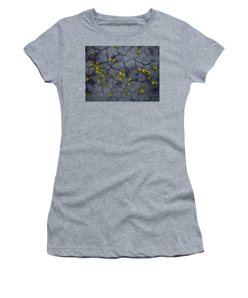 Cracked Blossoms Women's T-Shirt