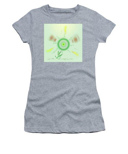Crazy Spinning Flower Women's T-Shirt
