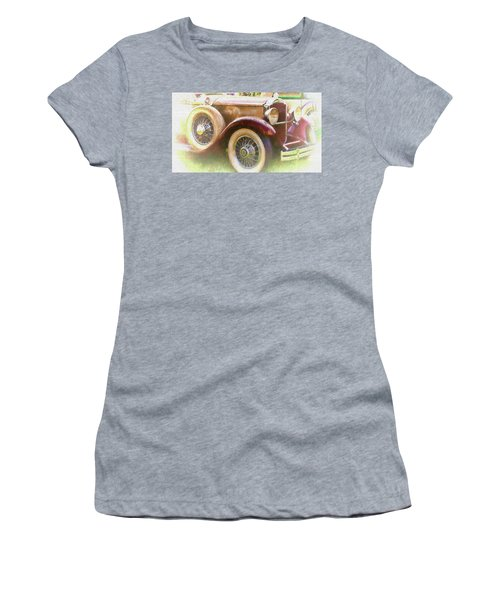 Cruise Into Tomorrow With Yesterday's Wheels Women's T-Shirt