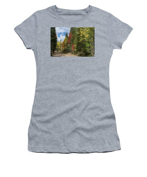 Women's T-Shirt (Athletic Fit) featuring the photograph Cruising Colorado by James BO Insogna