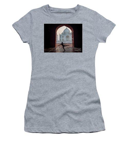 Dancer At The Taj Women's T-Shirt