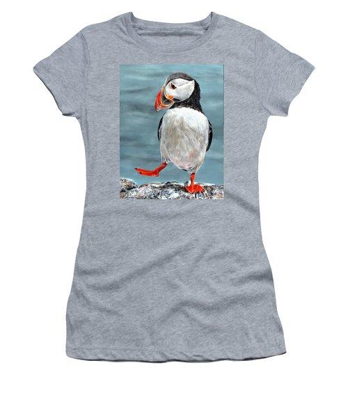 Dancing Puffin Women's T-Shirt