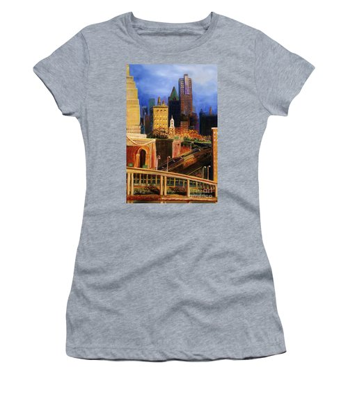 Dawn At City Hall Women's T-Shirt (Athletic Fit)