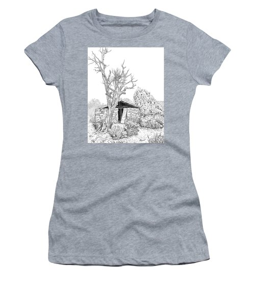 Decay Of Calamity The Half Life Of A Dream Black And White  Women's T-Shirt