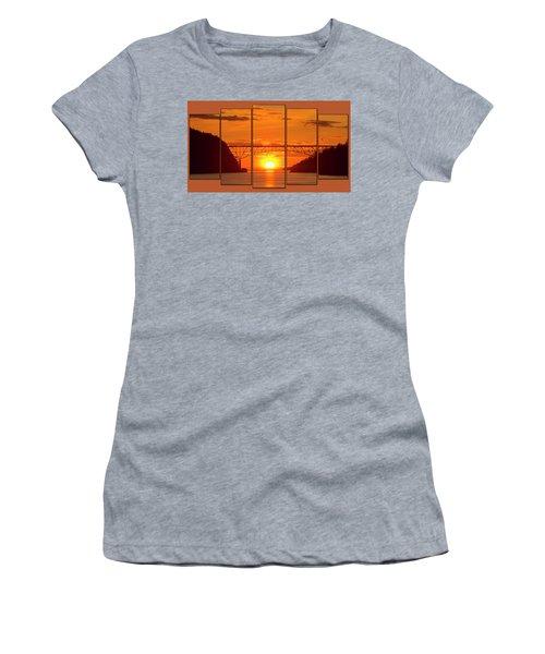 Deception Pass Sunset Panels Women's T-Shirt