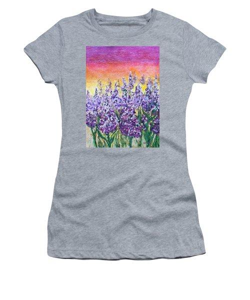 Delphiniums Women's T-Shirt