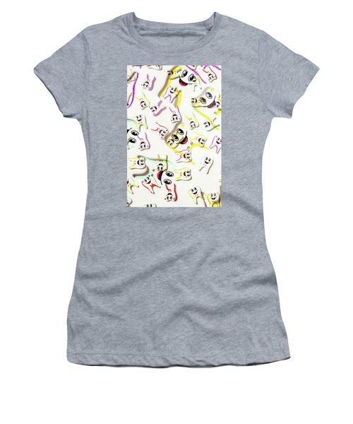 Dental Clinic Caricatures Women's T-Shirt