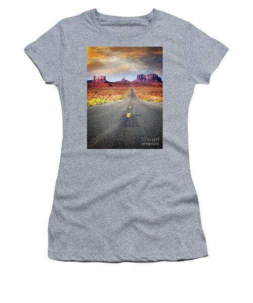 Desert Drive Women's T-Shirt