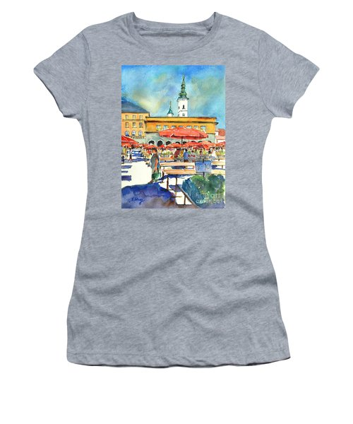 Dolce Market In Zagreb #1 Women's T-Shirt