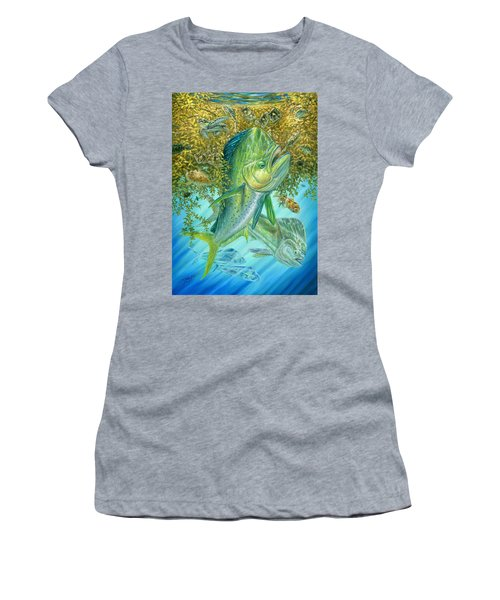 Dorados Hunting In Sargassum Women's T-Shirt
