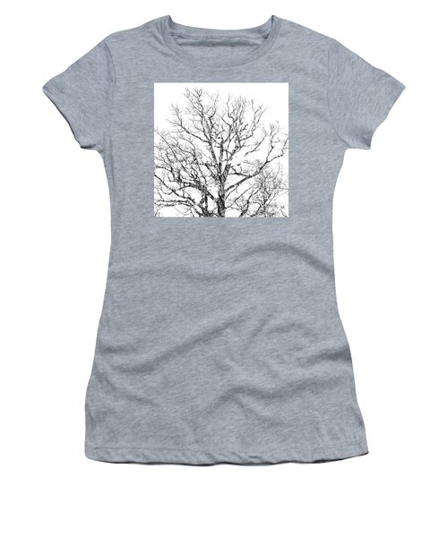 Women's T-Shirt featuring the photograph Double Exposure 1 by Steve Stanger