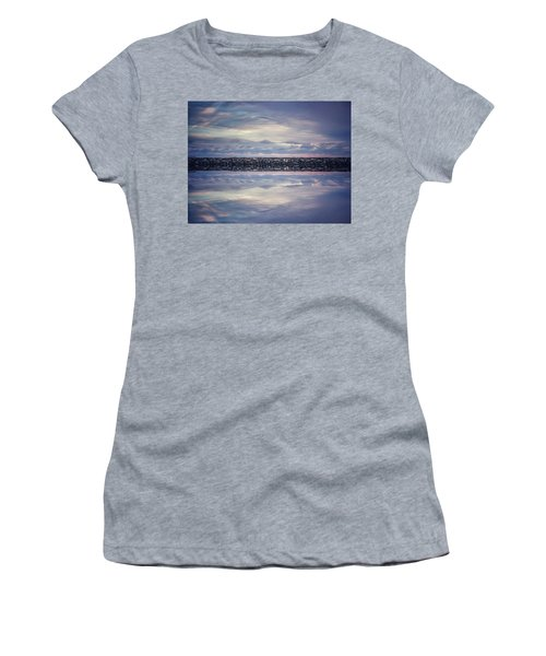 Women's T-Shirt featuring the photograph Double Exposure 2 by Steve Stanger