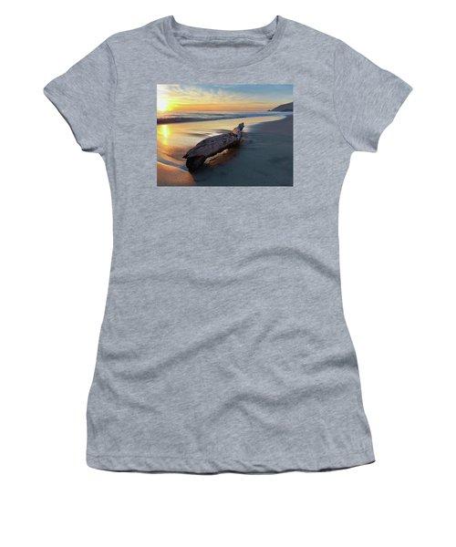 Drift Wood At Sunset II Women's T-Shirt