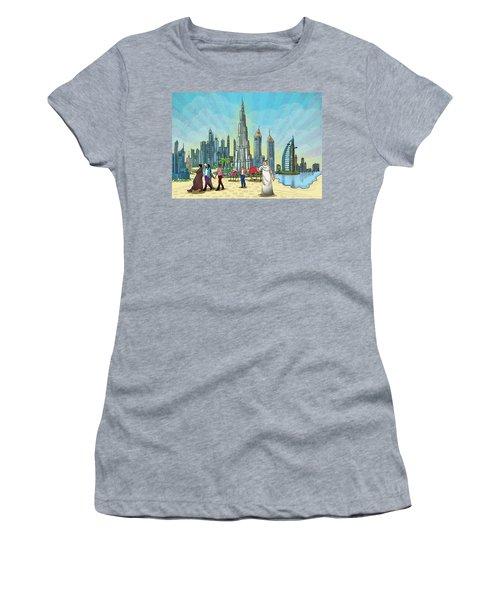 Dubai Illustration  Women's T-Shirt