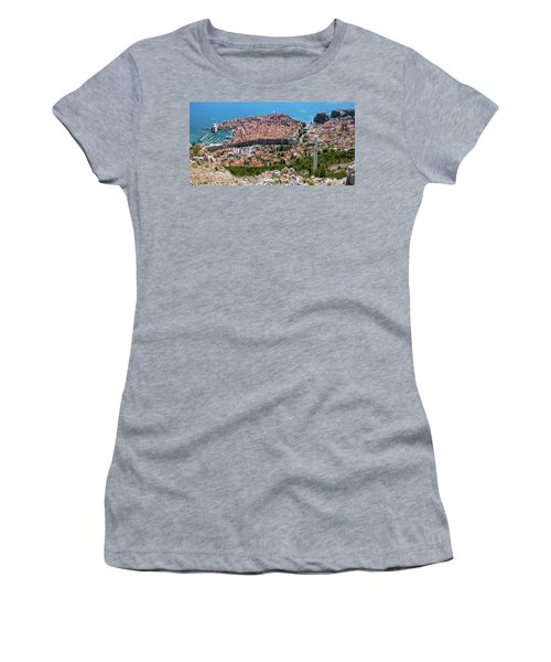 Dubrovnik Panorama From The Hill Women's T-Shirt