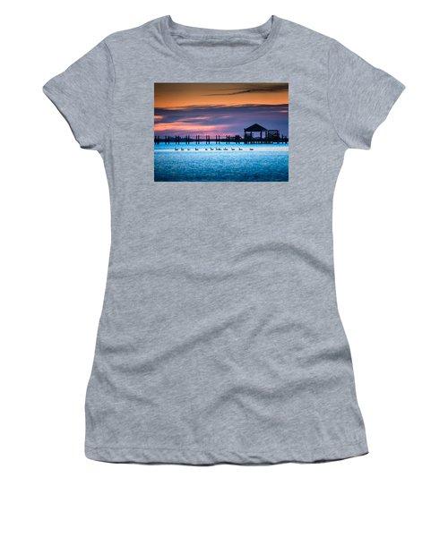 Duck Sunset - Outer Banks North Carolina Women's T-Shirt