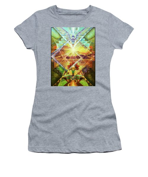 Eagle Boy And The Dawning Of A New Day Women's T-Shirt